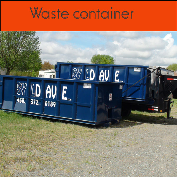 Module waste container